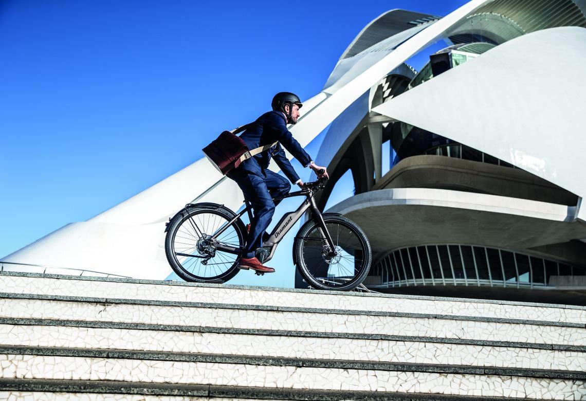 Diamant E-Bike im Stadtverkehr - Diamantrad-Blog