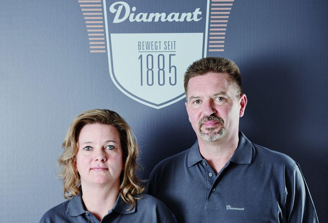 Mandy Böhm und Hartmut Böhm - Diamantrad-Blog