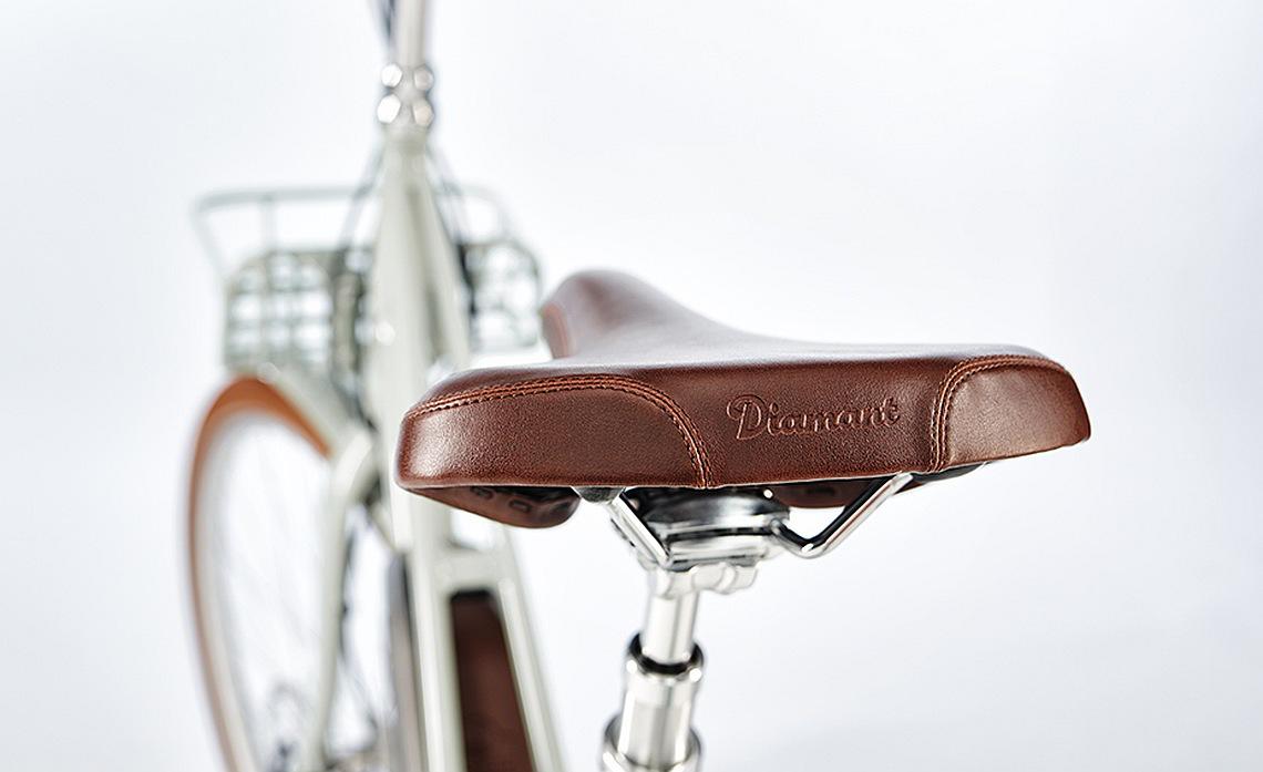 Fahrradsattel vom Diamant Juna - Diamantrad-Blog
