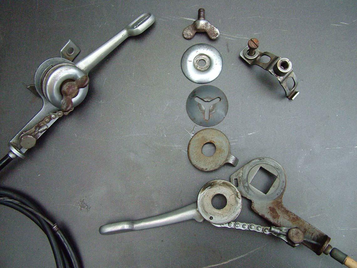 Bauteile Fahrradschaltwerk Diamant-Rennrad Oldtimer