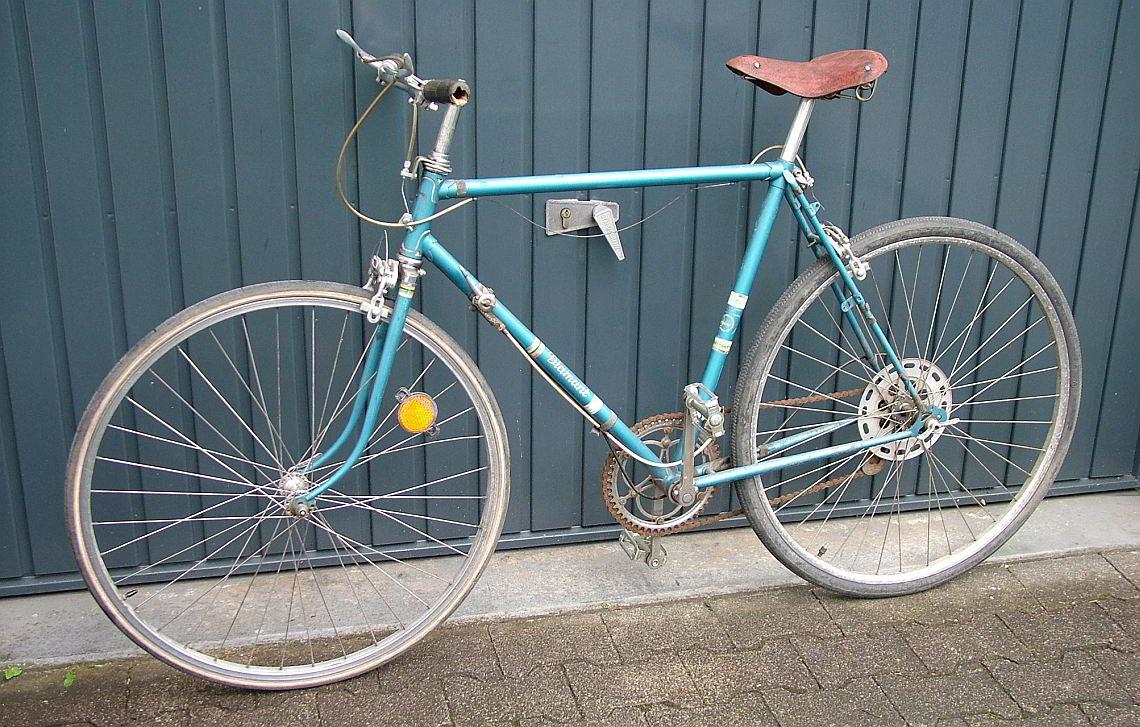Altes Diamant-Fahrrad von 1961
