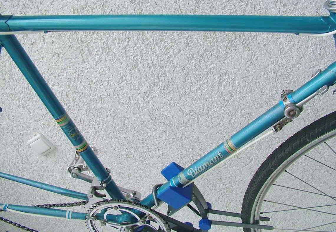 Alter Diamant-Fahrradrahmen - Diamant-Blog
