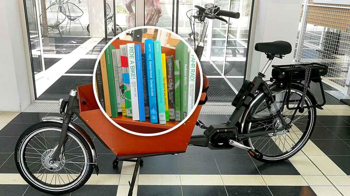 Fahrrad-Bibliothek im Deutschen Architekturmuseum Frankfurt - Diamant-Blog