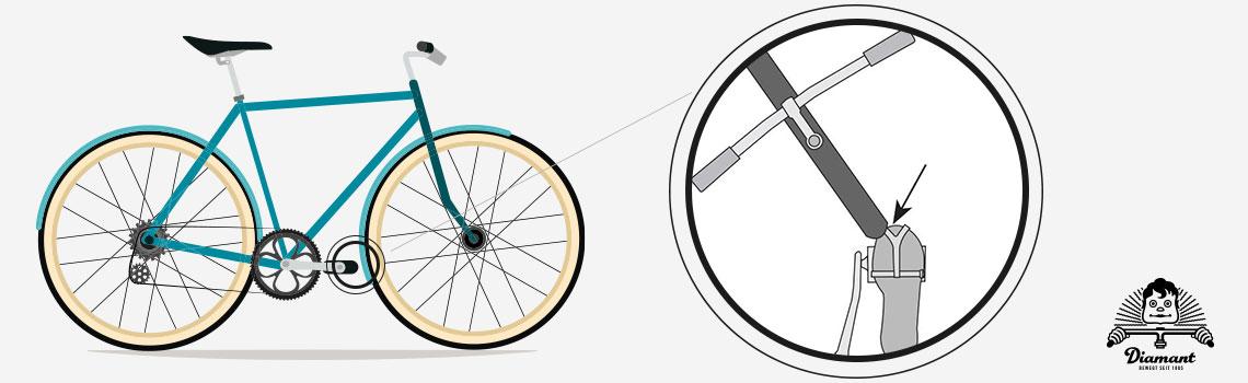 Überschneidung Pedalhaken und Vorderreifen - Diamant-Blog