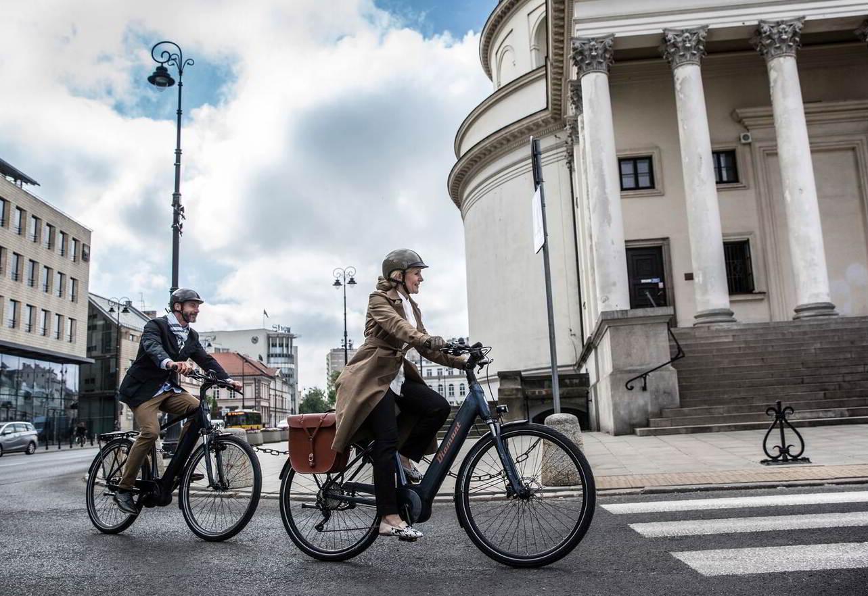 Radfahrer im Winter - Diamant-Blog