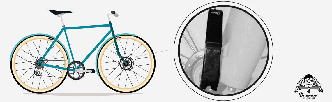 Hebelposition Clix-Schnellspanner vorne - Diamantrad-Blog
