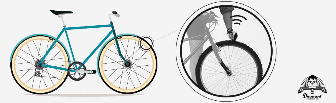 Prüfen des Laufrads auf festen Sitz - Diamantrad-Blog