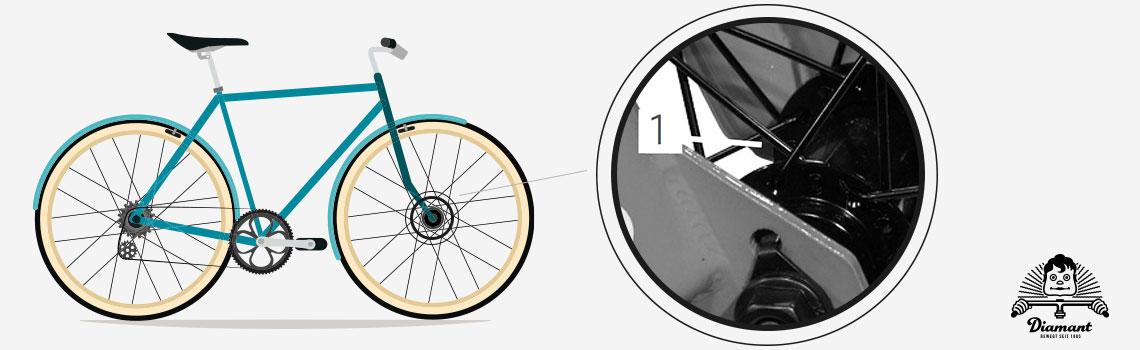 Nabe eines Fahrrad-Laufrads - Diamantrad-Blog