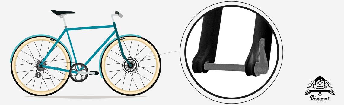 Steckachse beim Fahrrad-Laufrad - Diamantrad-Blog