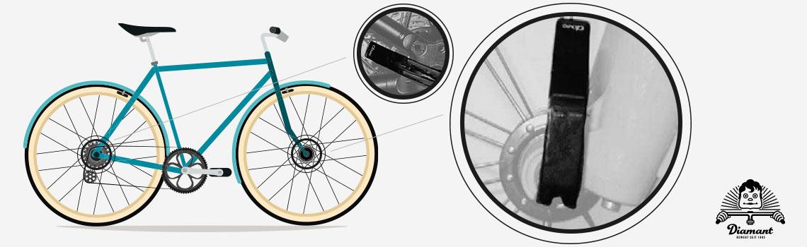 Fahrrad-Schnellspanner Hebelpositionen - Diamantrad-Blog