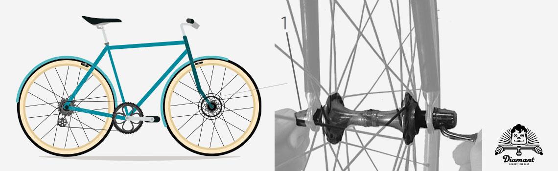 Fahrrad - Vorspannmutter anziehen - Diamantrad-Blog
