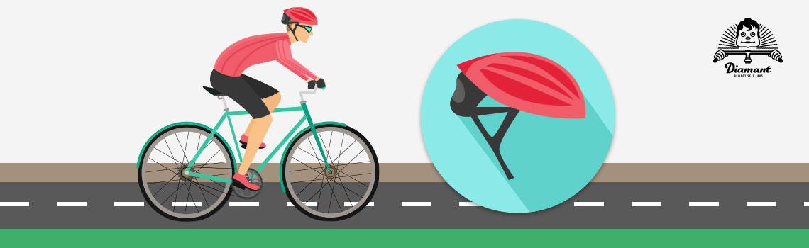 Trage beim Fahren einen Fahrradhelm - Diamantrad-Blog