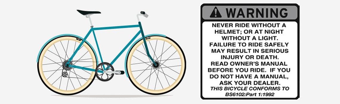 Sicherheitsaufkleber Diamant-Fahrrad - Diamantrad-Blog