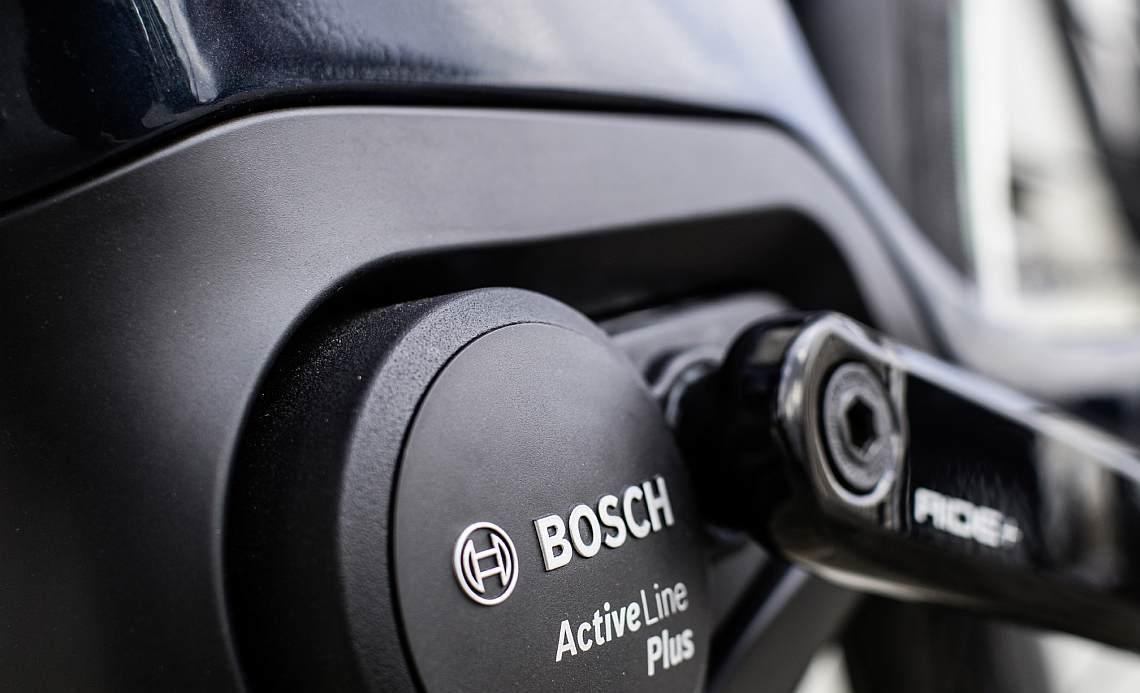 Bosch Active Line Plus Motor am Diamantrad-E-Bike - Diamantrad-Blog
