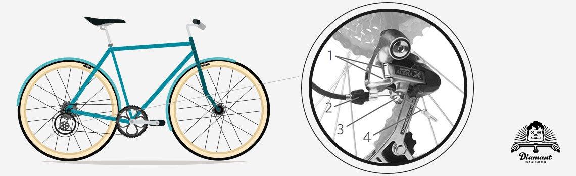 Fahrrad Hinterer Umwerfer Kettenschaltung - Diamantrad-Blog