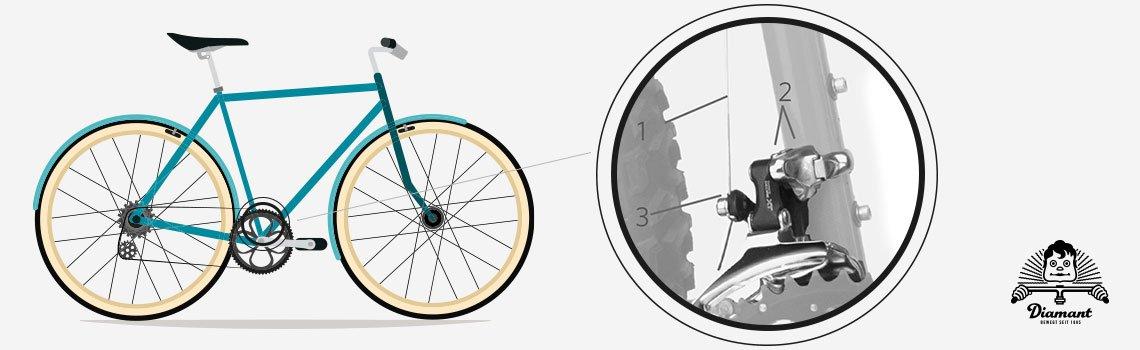 Vorderer Umwerfer Fahrrad - Diamantrad-Blog