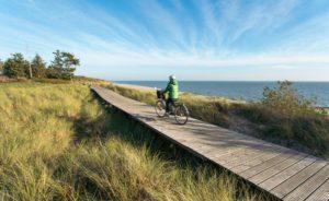 Die wunderschöne Dühnenlandschaft Föhrs auf dem Fahrrad genießen - Diamantrad-Blog