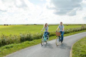 Radfahrer auf Föhr - Diamantrad-Blog