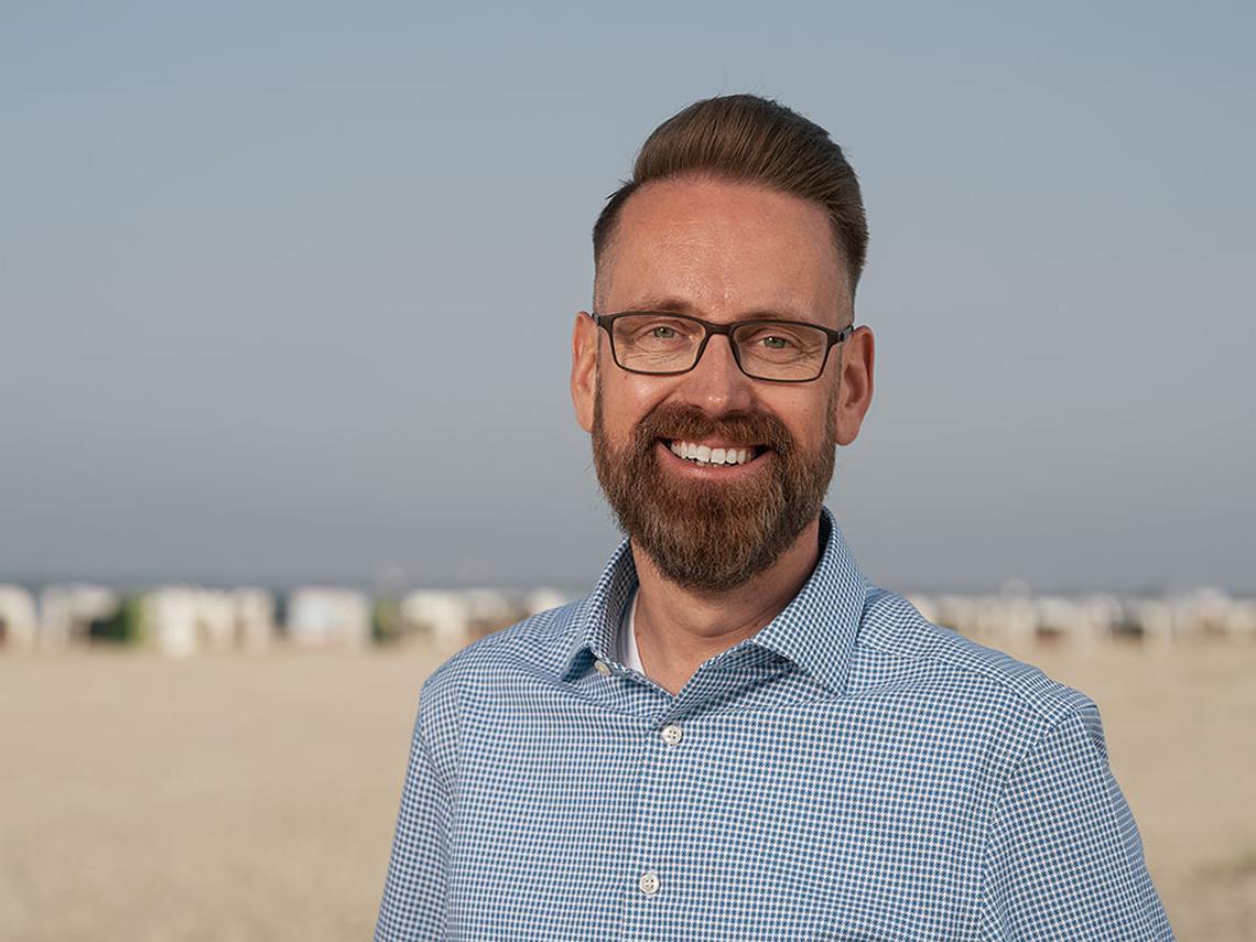 Björn Bartsch, Leiter der Abteilung Marketing und Event in Norden-Norddeich - Diamantrad-Blog