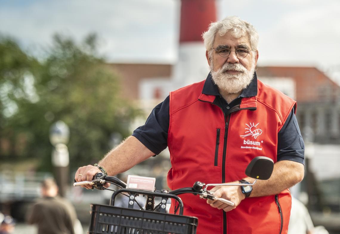 Raimund Donalies, Gästelotse in Büsum - Diamantrad-Blog