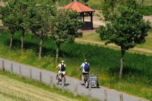 Fahrradfahren auf dem platten Land. - Diamantrad-Blog