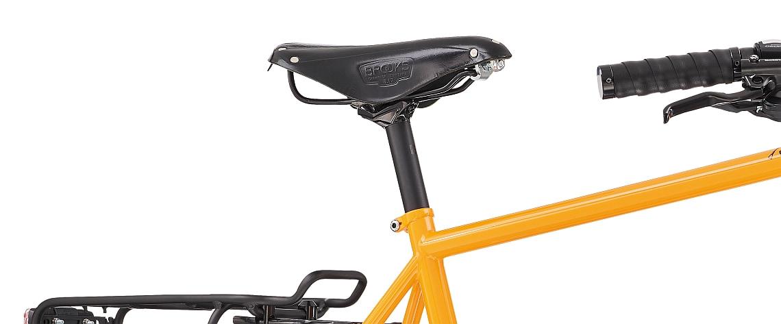Fahrradsattel vom Diamant 135 - Diamantrad-Blog