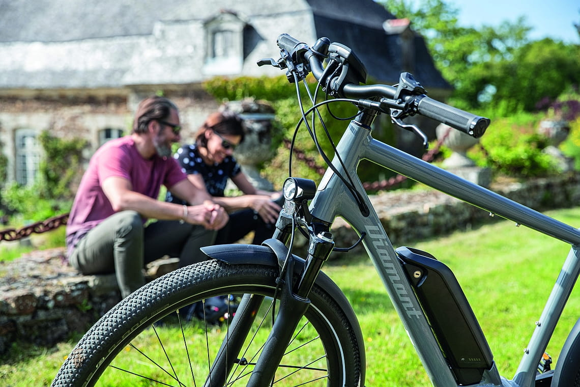 E-Bike-Akku vom Diamant Elan+ - Diamantrad-Blog