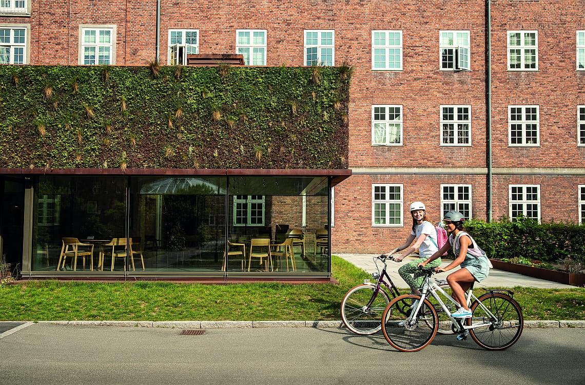 Zwei Radfahrerinnen auf Diamant-Fahrrädern - Corona und Fahrradfahren - Diamantrad-Blog