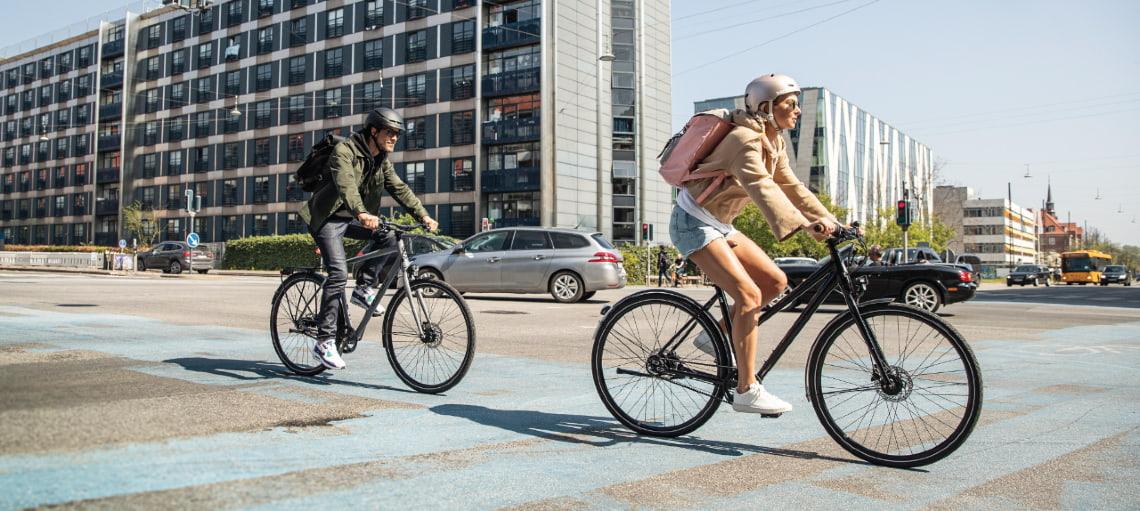 Mehrere Fahrradpendler - Mit dem Rad zur Arbeit - Diamantrad-Blog