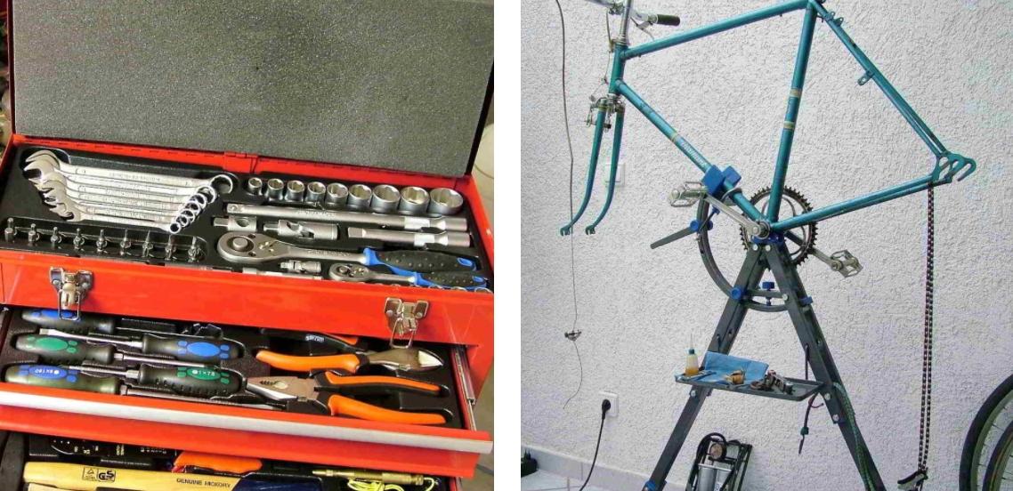 Werkzeug zur Rennrad-Restaurierung - Diamantrad-Blog